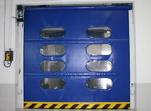 High speed automatic instant roll doors